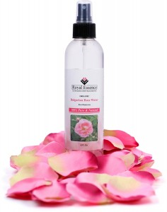 organic Bulgarian rose water spray for skincare, hair care, and aromatherapy