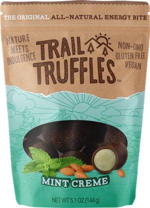 mint cream trail truffles bite snacks