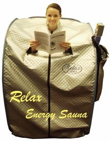 Relax Portable Sauna with 100% safe far infrared light