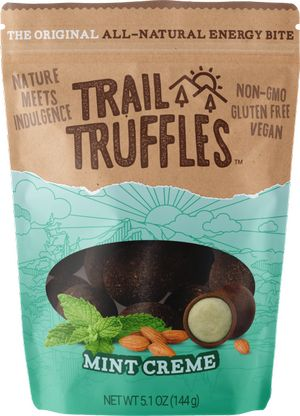 mint cream trail truffles bite snacks